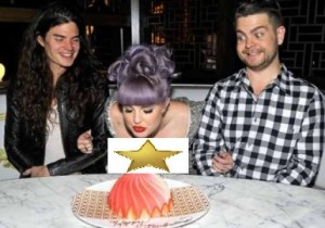 Kelly Osbourne Flaunts Cleavage at Her 29th Birthday Bash