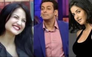 Salman Khan's Focus on Elli – Katrina Seems Jealous