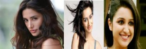 Parineeti Chopra, Shraddha Kapoor and Nargis Fakhri in a South Movie 'Kavacham'
