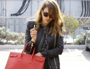 Jessica Alba Looks Stunningly Gorgeous in Printed Pants and Jacket