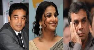 Kamal Haasan, Vidya Balan and Paresh Rawal Conferred with Padma Awards