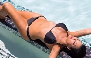Kris Jenner Shows off Killer Body in a Tiny Bikini