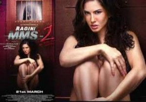 Pictures: Sunny Leone Strips for Ragini MMS 2 New Poster