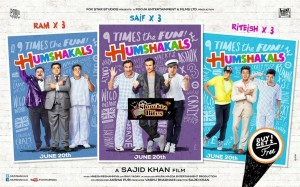 Photos: Humshakals' Posters Released
