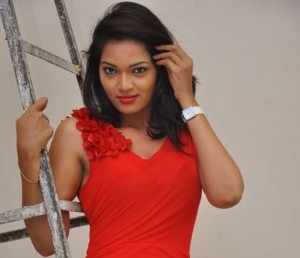 Ashwini Hot Photos – Babe Heats up the Scene in Red Dress