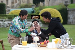 Saif Ali Khan and Riteish Deshmukh Apply 5 Kgs Butter on Ram Kapoor's Face