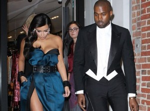 Pictures: Kim Kardashian Flashes Undergarments at Met Gala 2014