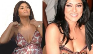 Photos: Sushmita Sen Displays Her Deep Yummy Cleavage Show