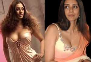 Tabu's Lip-Smacking Hot Bigger Cleavage Pictures