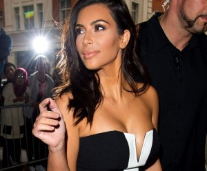 Pix: Kim Kardashian Goes Braless and Puts Her Assets on Full Display