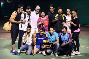Photos: Celebrities Practise for BCL (Box Cricket League)