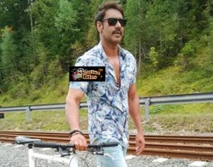 Ajay Devgn's Bicycling Craze in Austria