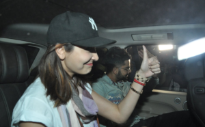 Pix: Anushka Sharma and Virat Kohli's Love Get More Open, Spotted at Airport