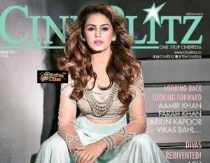 Huma Qureshi on CineBlitz Cover Page, Looks Stunning
