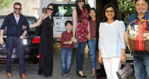 Pix: Kareena Kapoor Looks Hot and Entire Kapoor Family Enjoy Sashi Kapoor's X-Mas Brunch Party