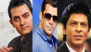 Aamir Khan, Salman Khan and Shah Rukh Khan in a MOVIE together