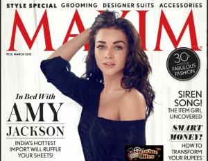 PIX: Amy Jackson Sizzles and Spices Up Maxim Magazine Cover