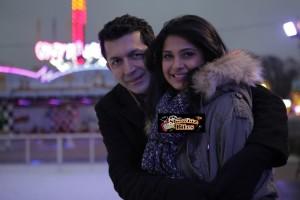 PIX: Jennifer Winget and Kunal Kohli Had a Blast with Ice-Skating in London
