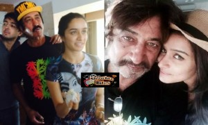 PIX: Shraddha Kapoor Gifted Gold Watch by Father Shakti Kapoor on Birthday