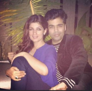 PIX: Twinkle Khanna Spotted with Karan Johar on a Dinner Date – Are They Dating?