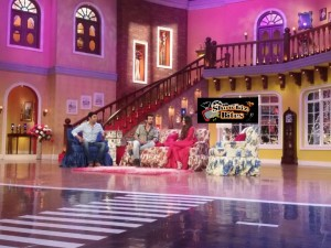 PICTURES: Sunny Leone Sizzles on Comedy Nights with Kapil