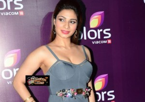 PIX: Hot Tanishaa Mukerji Shows Cleavage and Curvy Body at Colors Party