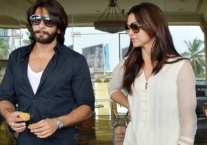 Ranveer Singh and Deepika Padukone ENGAGED