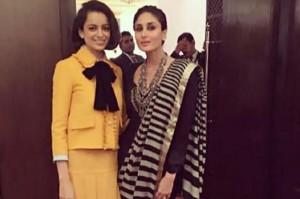 New Bollywood Besties – Kareena Kapoor and Kangana Ranaut
