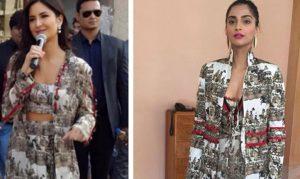 Who Wore Print Dress Better: Katrina Kaif or Sonam Kapoor?
