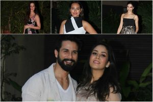 PHOTOS & VIDEO: Bollywood Galore at Shahid Kapoor's Pre-Birthday Bash at His Residence