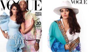 PHOTOS: Aishwarya Rai Bachchan and Pharrel Williams Shoot for Vogue's April 2018 Cover